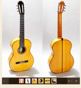 Guitarra de Ciprés de Hnos. Jiménez Rodríguez